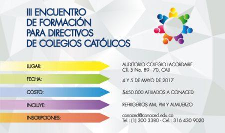 Memorias ||| Encuentro de formación para directivos de colegios católicos