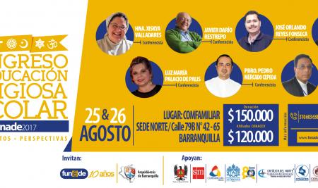 1er Congreso de Educación Religiosa Escolar – FUNADE 2017