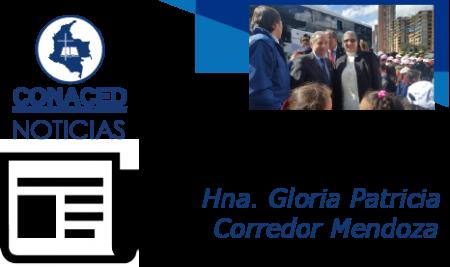 Presentación Hna. Gloria Patricia Corredor Mendoza, O.P. Comunicación de agradecimiento a la confederación, Padre Mauricio Galeano Rojas O.P.