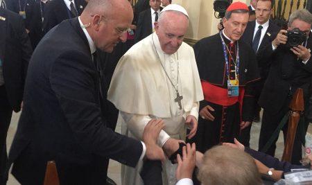 Visita Papa Francisco a Colombia, 7 de septiembre 2017.