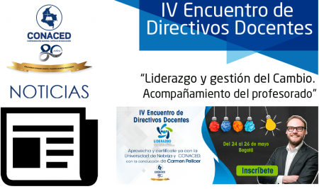 """IV Encuentro de Directivos Docentes """"Liderazgo y gestión del Cambio. Acompañamiento del profesorado""""."""