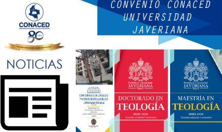 Convenio Universidad Javeriana y CONACED