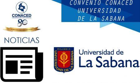 Convenio Universidad de La Sabana y CONACED