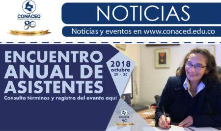 Encuentro anual de asistentes CONACED 2018