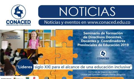 Seminario de formación de Directivos Docentes,  Docentes y  Coordinadores Provinciales de Educación 2019
