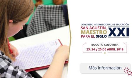 Congreso Internacional de Educación San Agustín, Maestro para el siglo XXI.