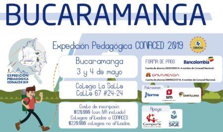 Bucaramanga, Expedición Pedagógica CONACED 2019