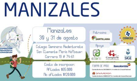 Manizales, Expedición Pedagógica CONACED 2019