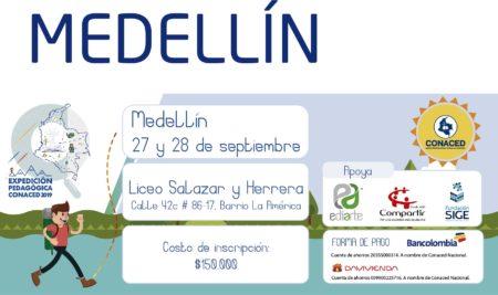 Medellín, Expedición Pedagógica CONACED 2019