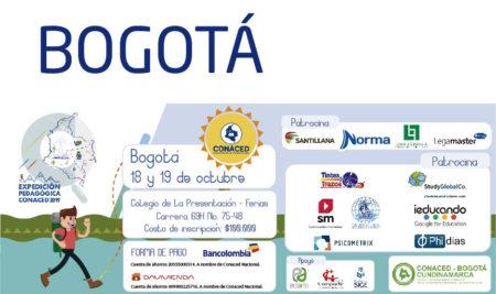 Bogotá, Expedición Pedagógica CONACED 2019
