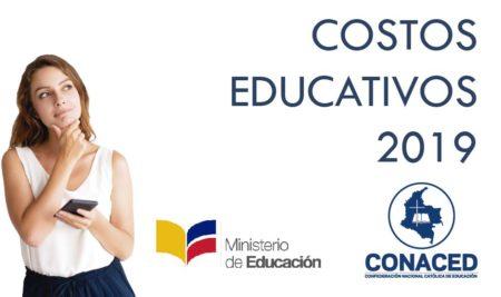 Costos educativos 2019 Resolución 010617 de 2019