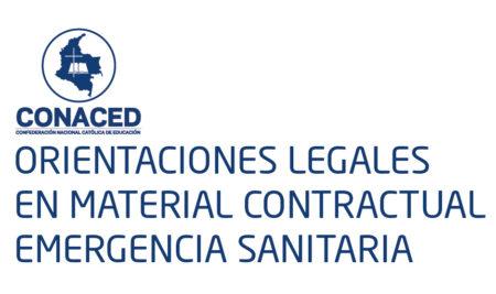 ORIENTACIONES LEGALES EN MATERIAL CONTRACTUAL- EMERGENCIA SANITARIA