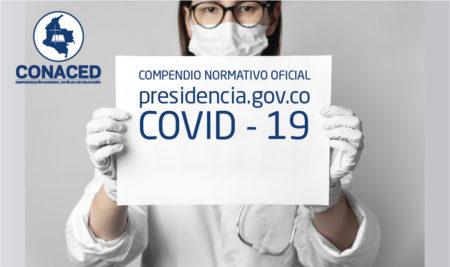 COVID – 19 COMPENDIO NORMATIVO OFICIAL, Presidencia de la República.