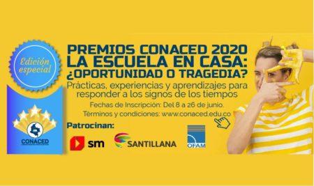PREMIOS CONACED 2020 – EDICIÓN ESPECIAL.