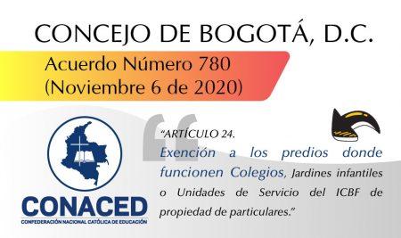 Acuerdo Número 780, noviembre 6 de 2020.