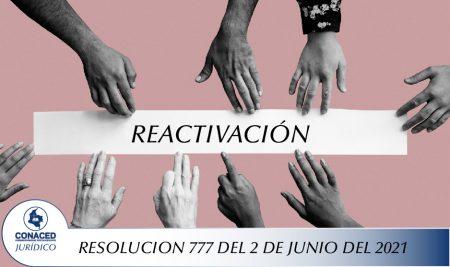 RESOLUCION 777 DEL 2 DE JUNIO DEL 2021